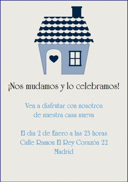 La Casita Celebra Con Estilo Con Las Invitaciones Y Tarjetas