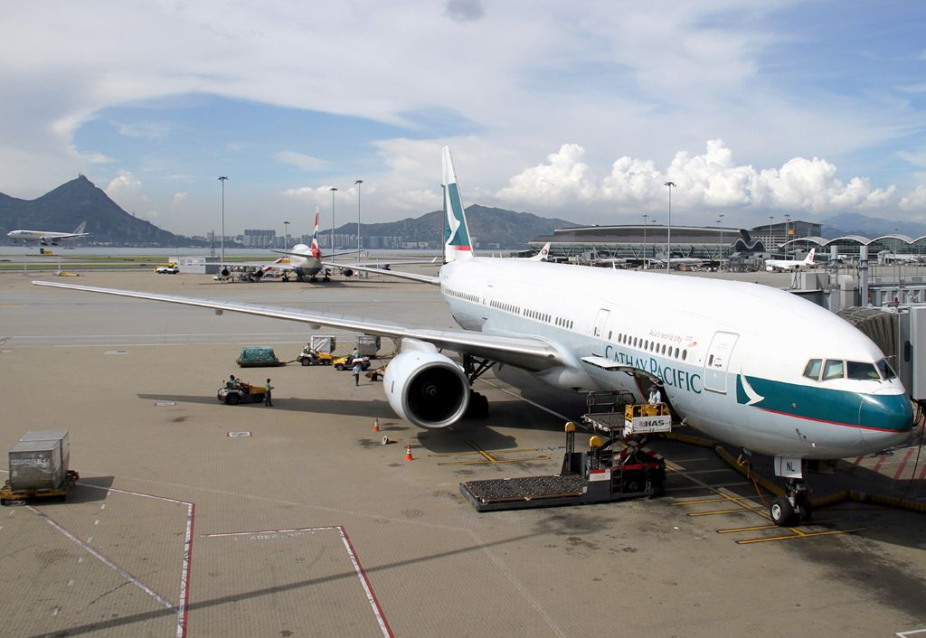 B777 267 With Images Cathay Pacific