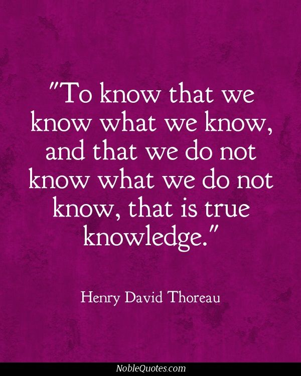 thoreau on education