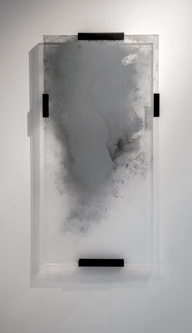 Tom Palmer | Ghost Mirror | glass, silver, perspex, brass | Material ...