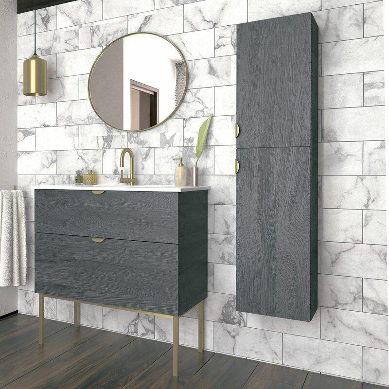 37++ Modern free standing bathroom cabinets ideas