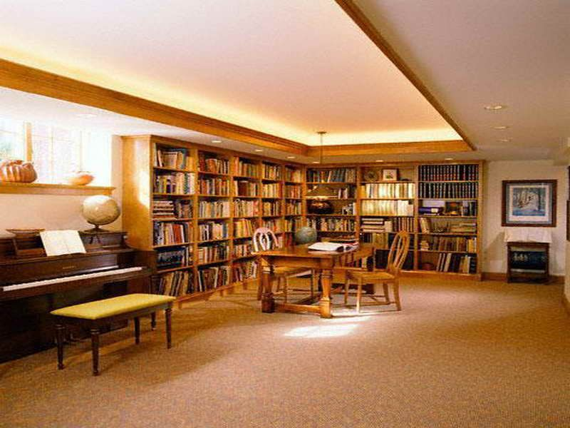 furniture design project in modern basement library ideas furniture design project in modern basement library ideasjpg 800