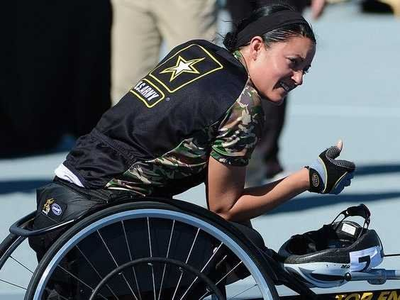 Spc. Elizabeth Wasil overcame combat injuries to become an all-star Army athlete.