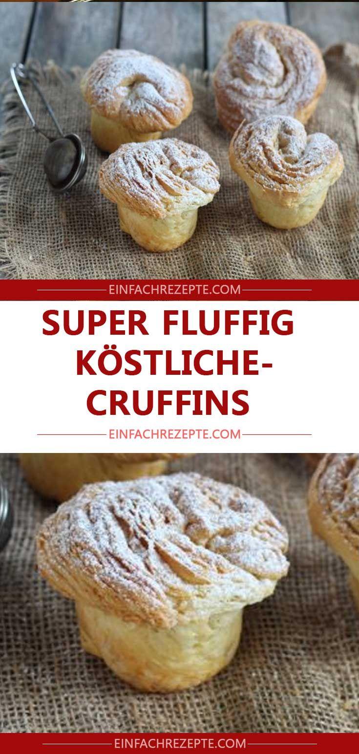 SUPER FLUFFIG-KÖSTLICHE CRUFFINS #donutcake