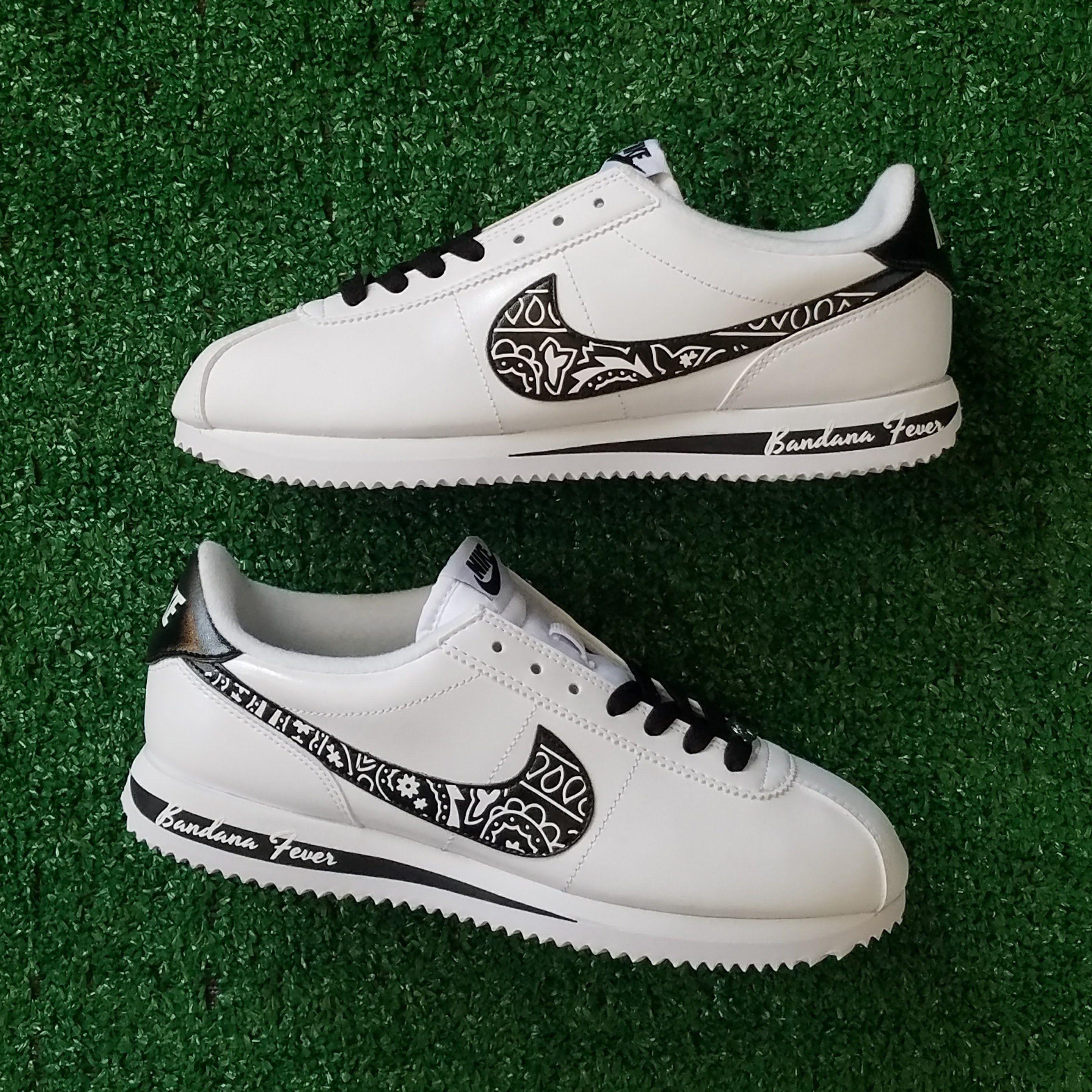 Customized Nike Sneakers, Men's, White
