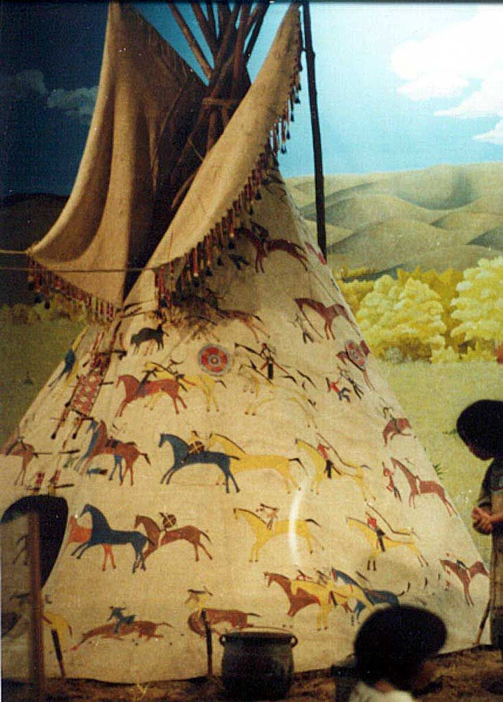 Nez Perce Tipis   Miniconjou-Cherry Creek, SD. Chief Hump's Band c1900