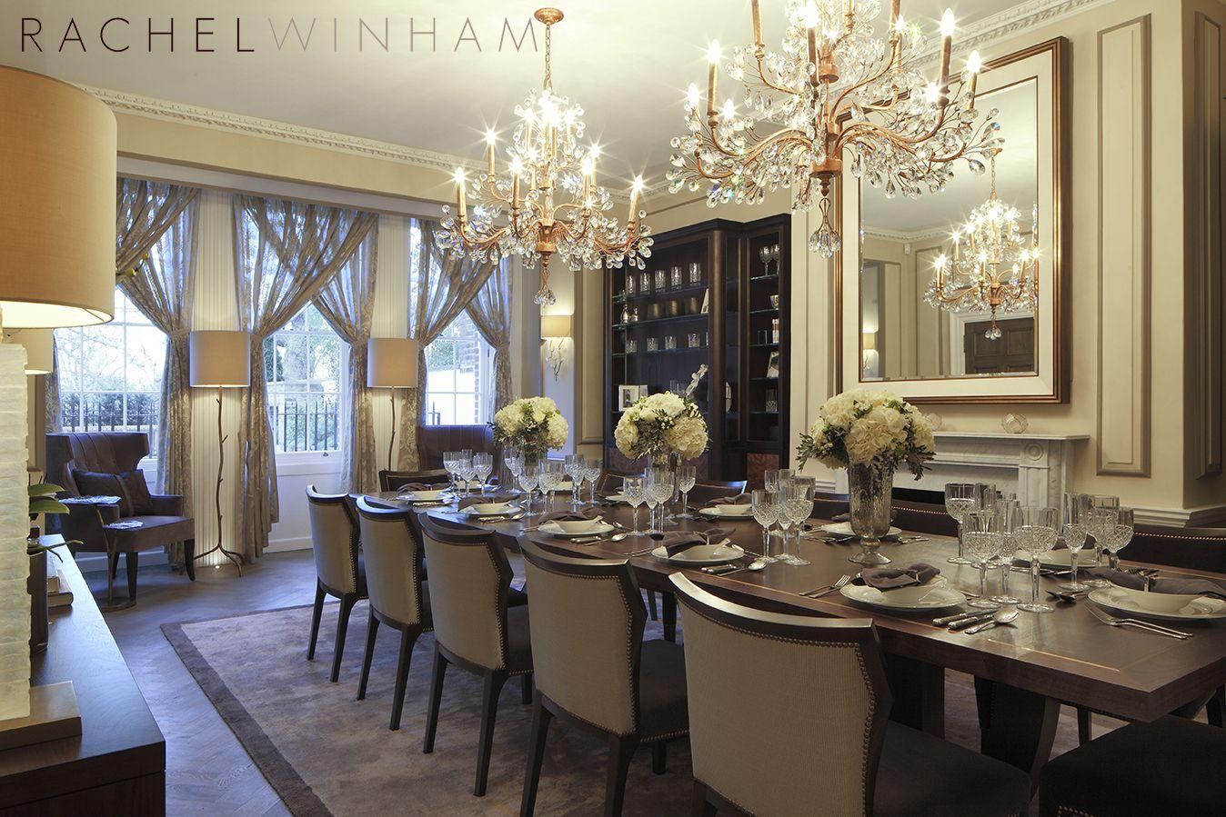 Dining Room Rachel Winham Interior Design Interior