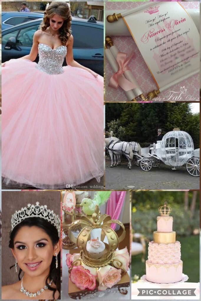 Princess Quinceanera Royalty Royal Cinderella Sleeping