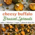 Buffalo Brussel Sprouts (Vegan/Whole30)