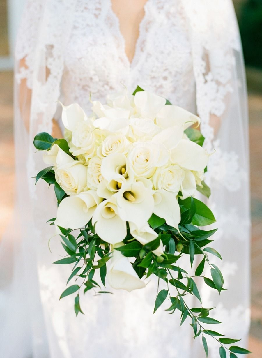 Charming Southern Wedding on Virginia Horse Farm Lily