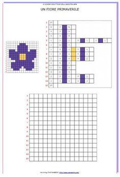 Coding pixel art di primavera coding pixel art for Codice fiscale da stampare