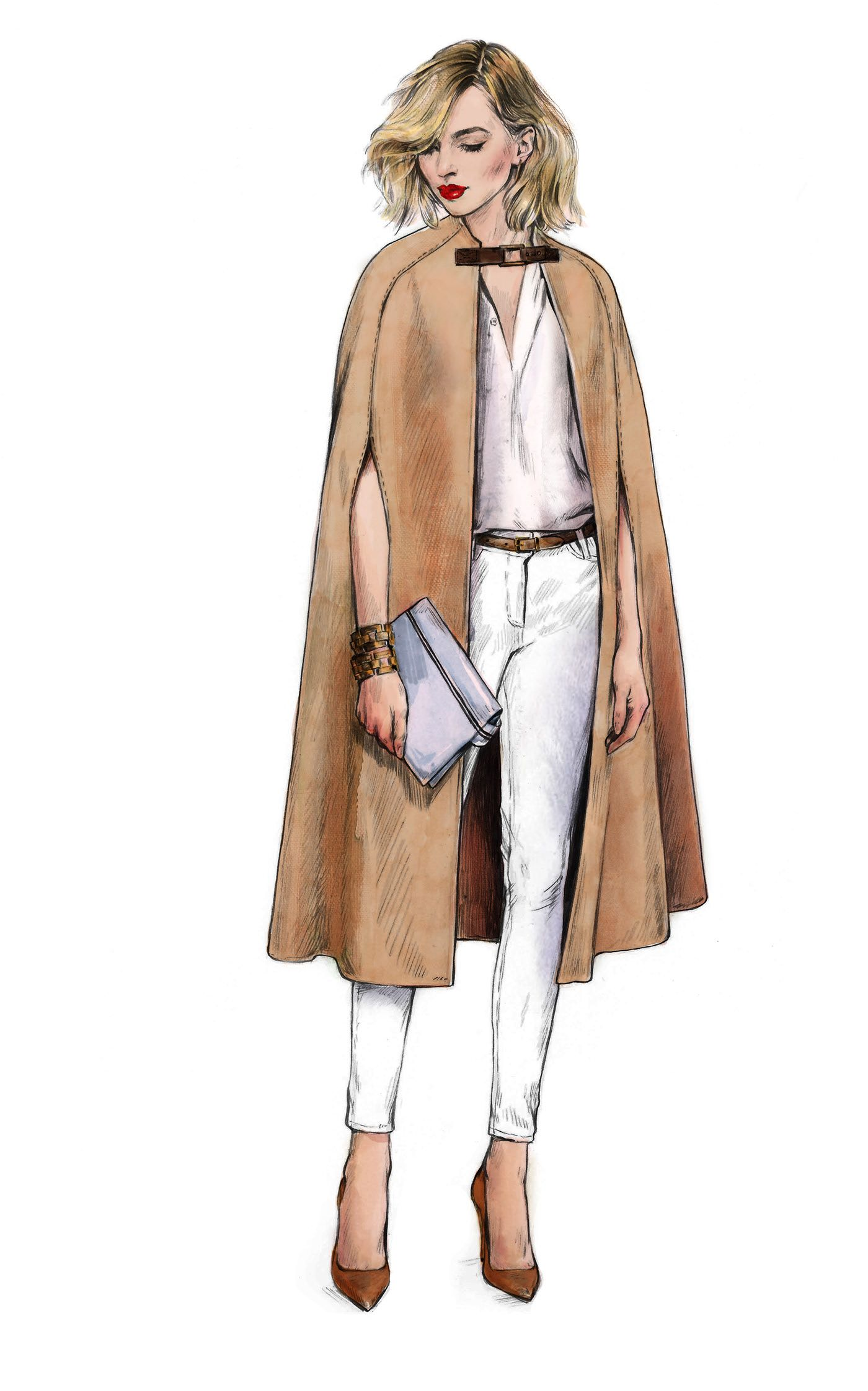 Illustrations for Cocoon Luxury Wear.