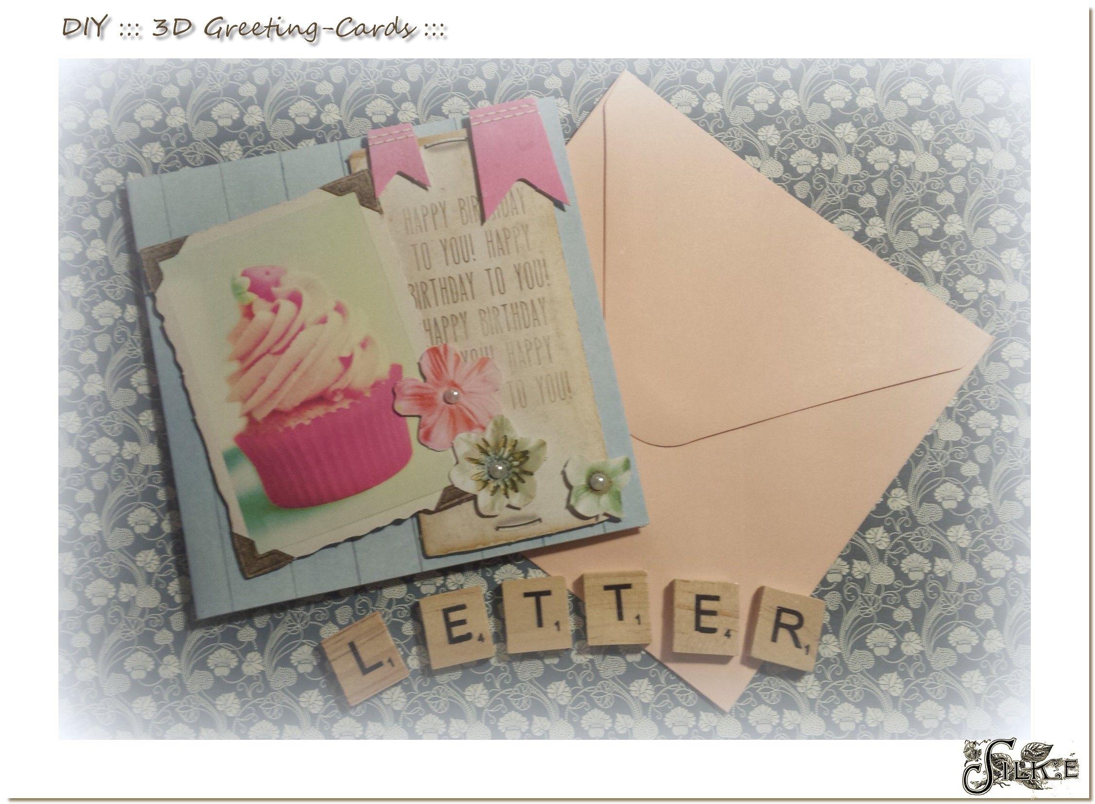 DIY ::: Neue Geburtstagskarten ::: in frischen Farben rund um den ...