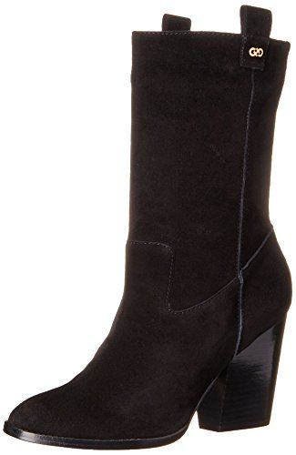 Cole Haan Womens Nightingale Boot Black Suede 9 B US -- Click image for more