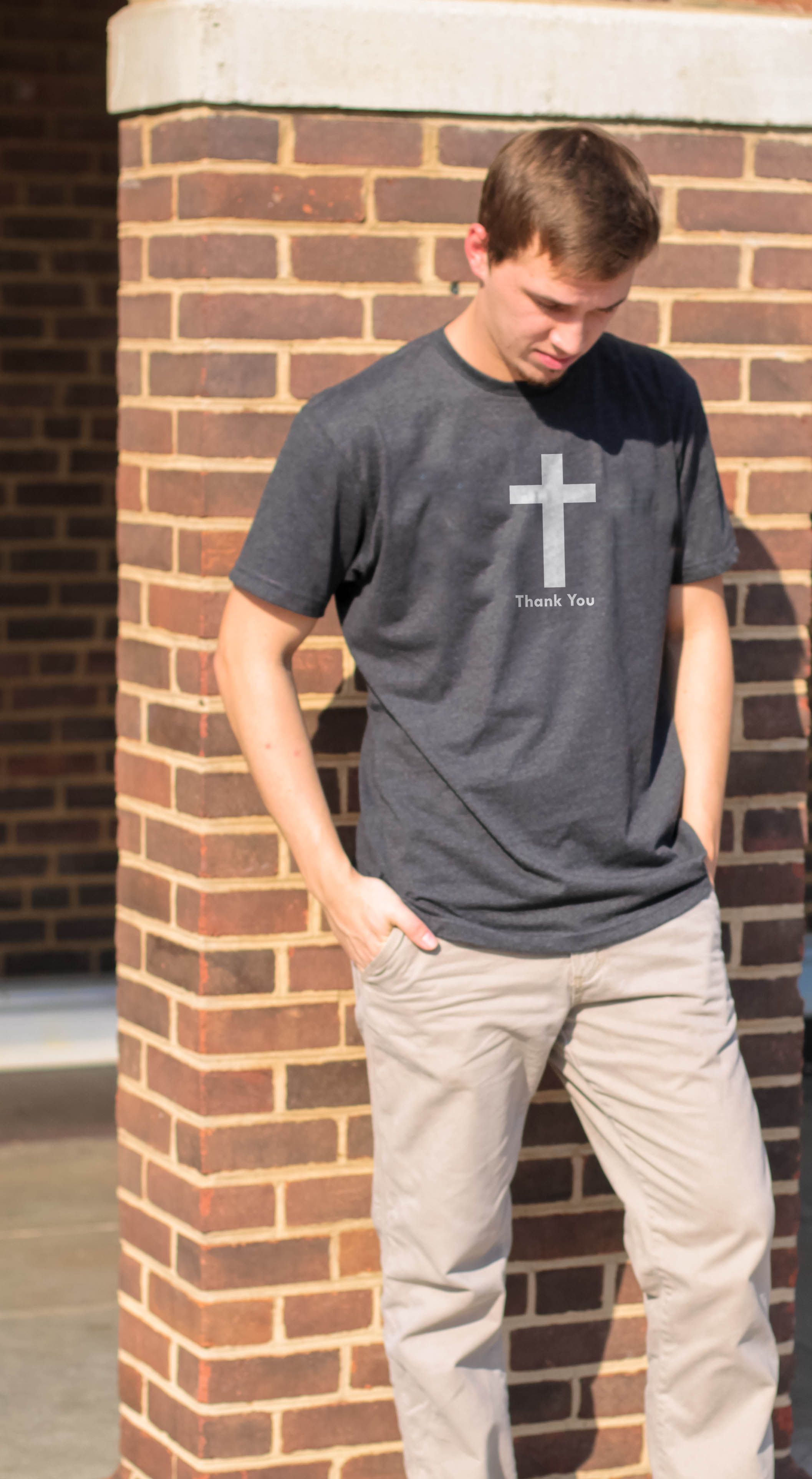 """Today's Through the Bible Reading is Exodus 10 -12.   Jesus is our Passover Lamb. Because of His great love """"...while we were still sinners, Christ died for us...being now justified by his blood, we are saved from wrath through Him."""" Rom.5:8,9  * * 19 Upstream Christian tshirts * *"""