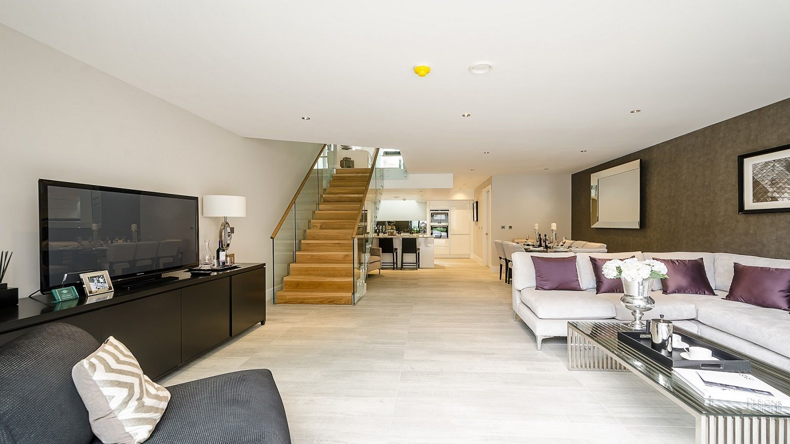 Mulberry Mews Taylor Wimpey Central London Living Room Design  # Muebles Tipo Wimpy