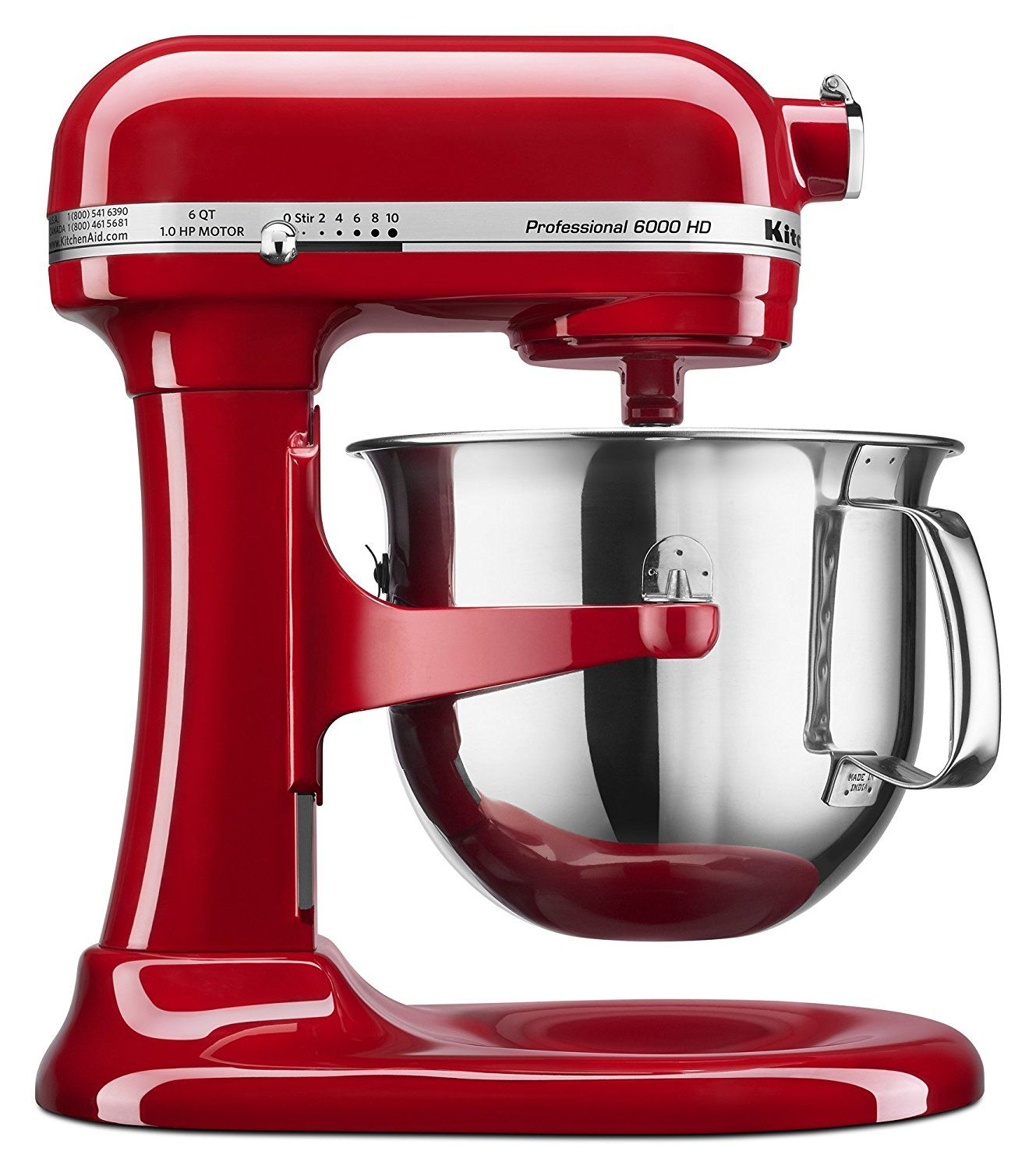 Empire Red KitchenAid Professional HD KSMCER Stand Mixer