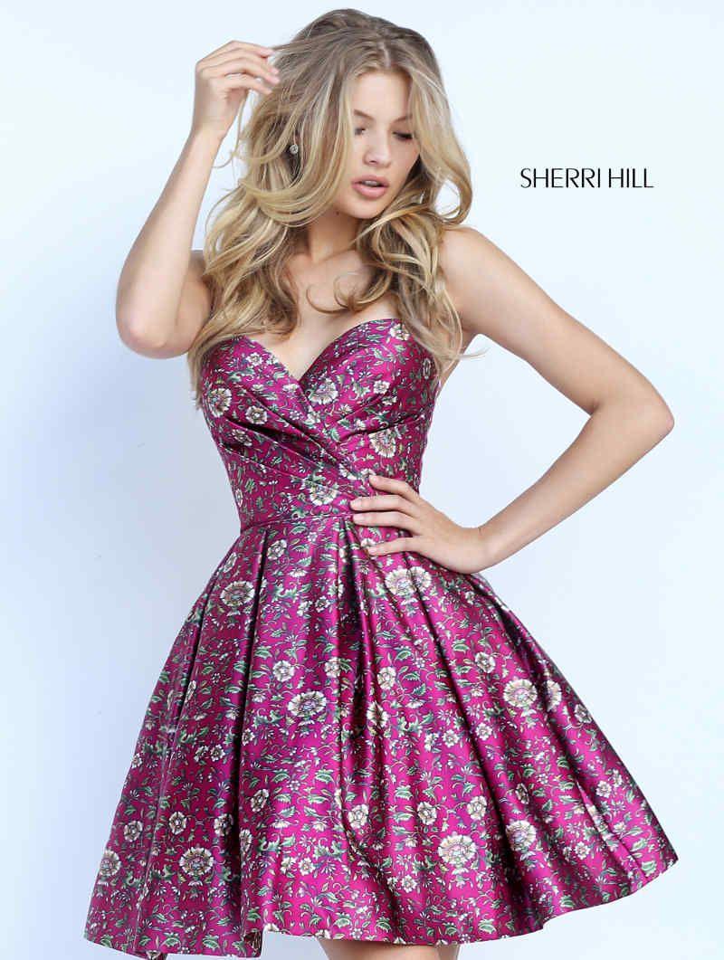 Ein kleines bisschen Folklore mit Sherri Hill Abendkleider in kurz ...