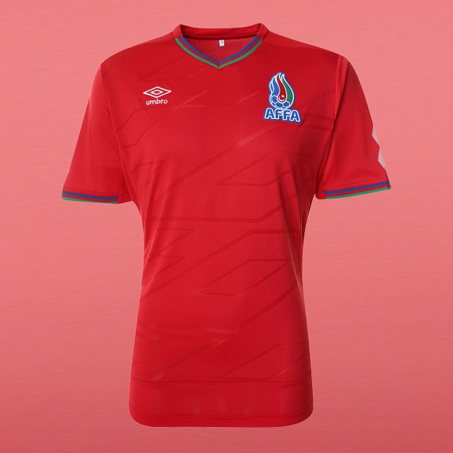 Camisas do Azerbaijão 2016 Umbro
