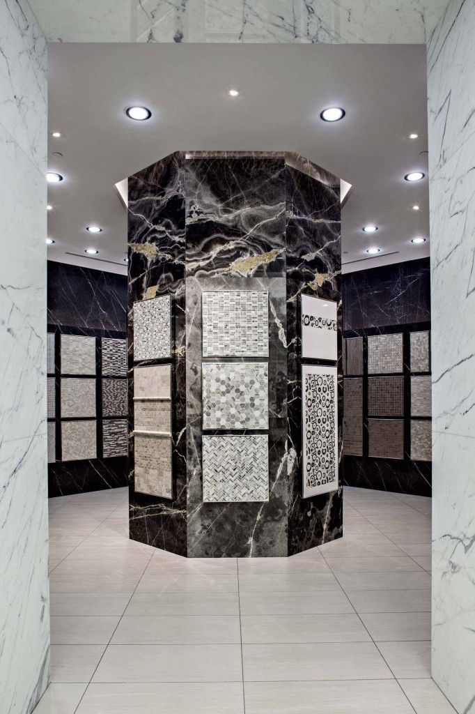 The Olympia Tile Toronto showroom features over 37,000 square feet ...