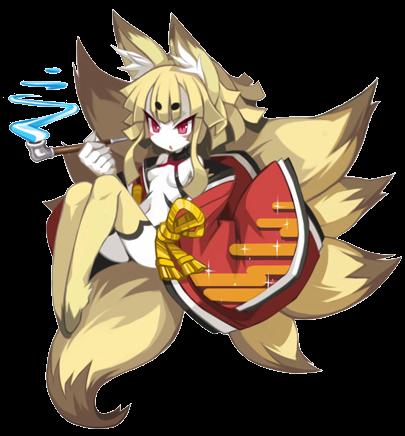 Izuna from Disgaea 5. Photo courtesy of Disgaea wikia