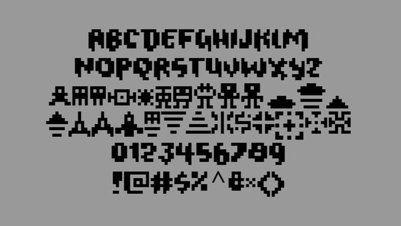 Geometry Dash Font Download Geometry dash font, Download