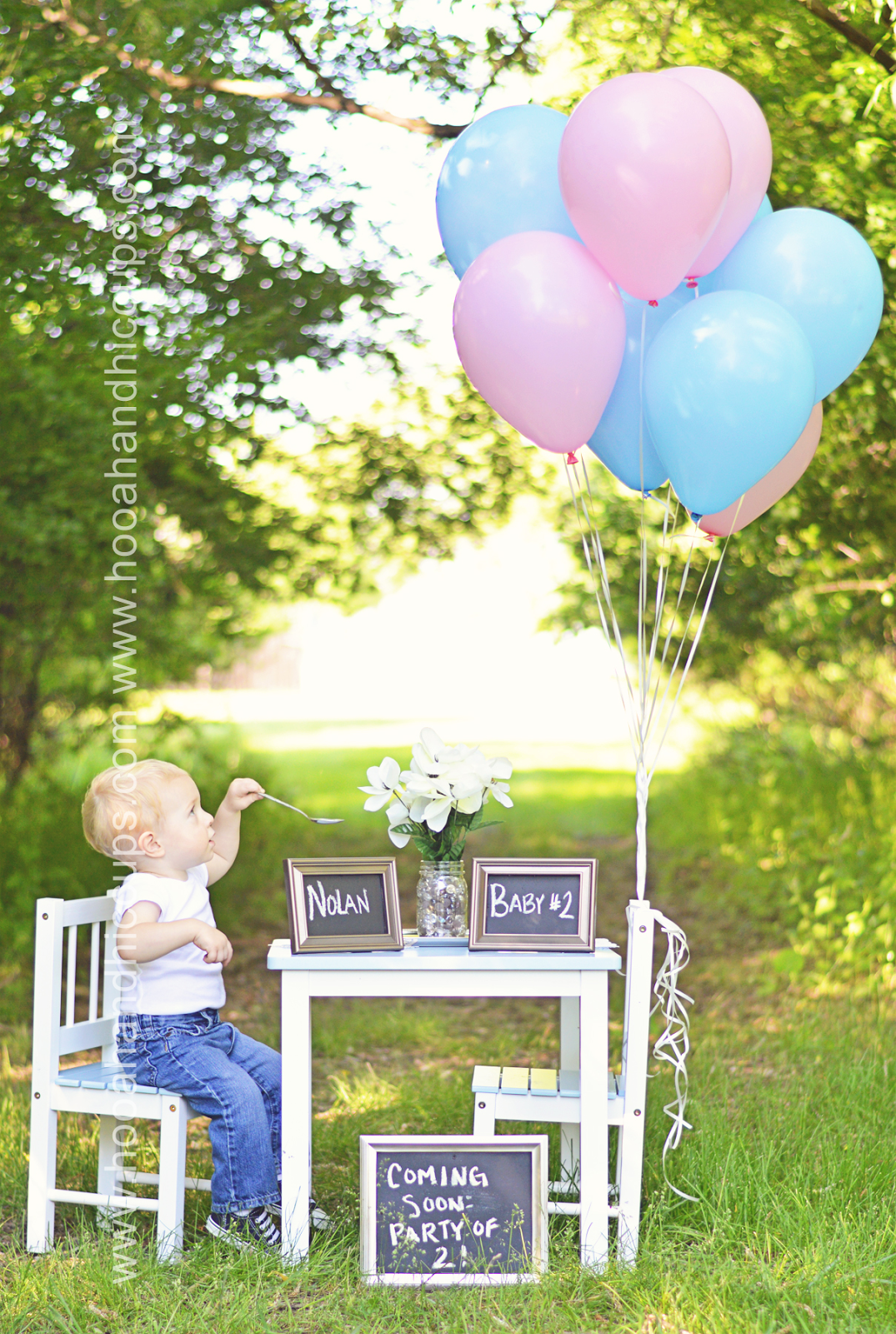 My pregnancy announcement photo – Cute Ways to Announce Second Baby