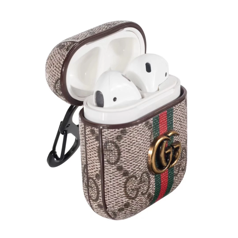If You Like Fashion Checkout Our Roku Channel Airpod Case Gucci Fashion Leather