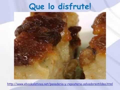 Budin de Pan Receta de EL Salvador Cocina Salvadorena | comida ...