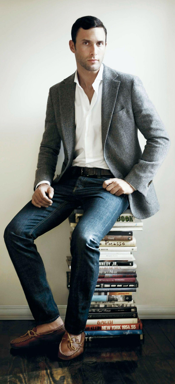 NOAH MILLS Sports coat and jeans, Casual sport coats
