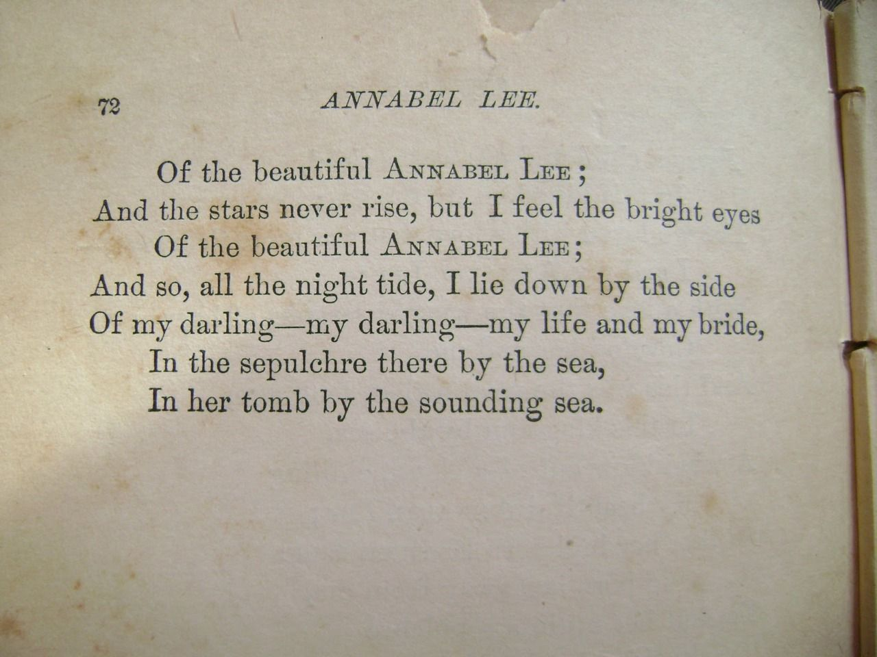 a excerpt from the poem annabel lee by edgar allen poe this a excerpt from the poem annabel lee by edgar allen poe this will always be my favorite poem quotables poem edgar allen poe and annabel
