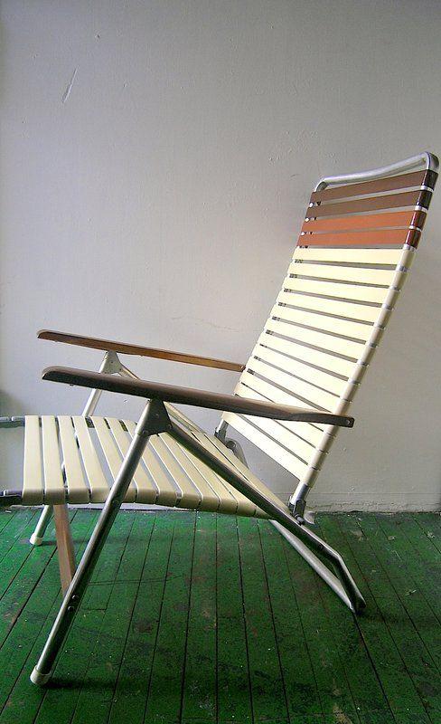 70s Aluminum Chairs Telescope Vintage Outdoor Aluminum Chairs Vintage Patio Folding Furniture