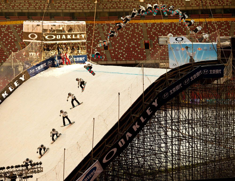 The 2012-2013 Events Calendar is up!   Beijing Air and Style at the Bird's Nest Stadium.  | TransWorld SNOWboarding