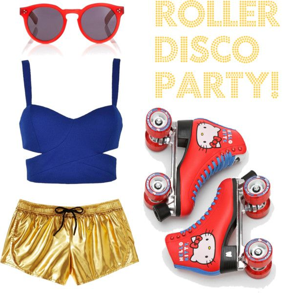 U0026quot;Roller Disco Party!u0026quot; By Chelseajoy5 On Polyvore | ROOOLLLLEEERRR DDDDEEERRRBBY | Pinterest ...