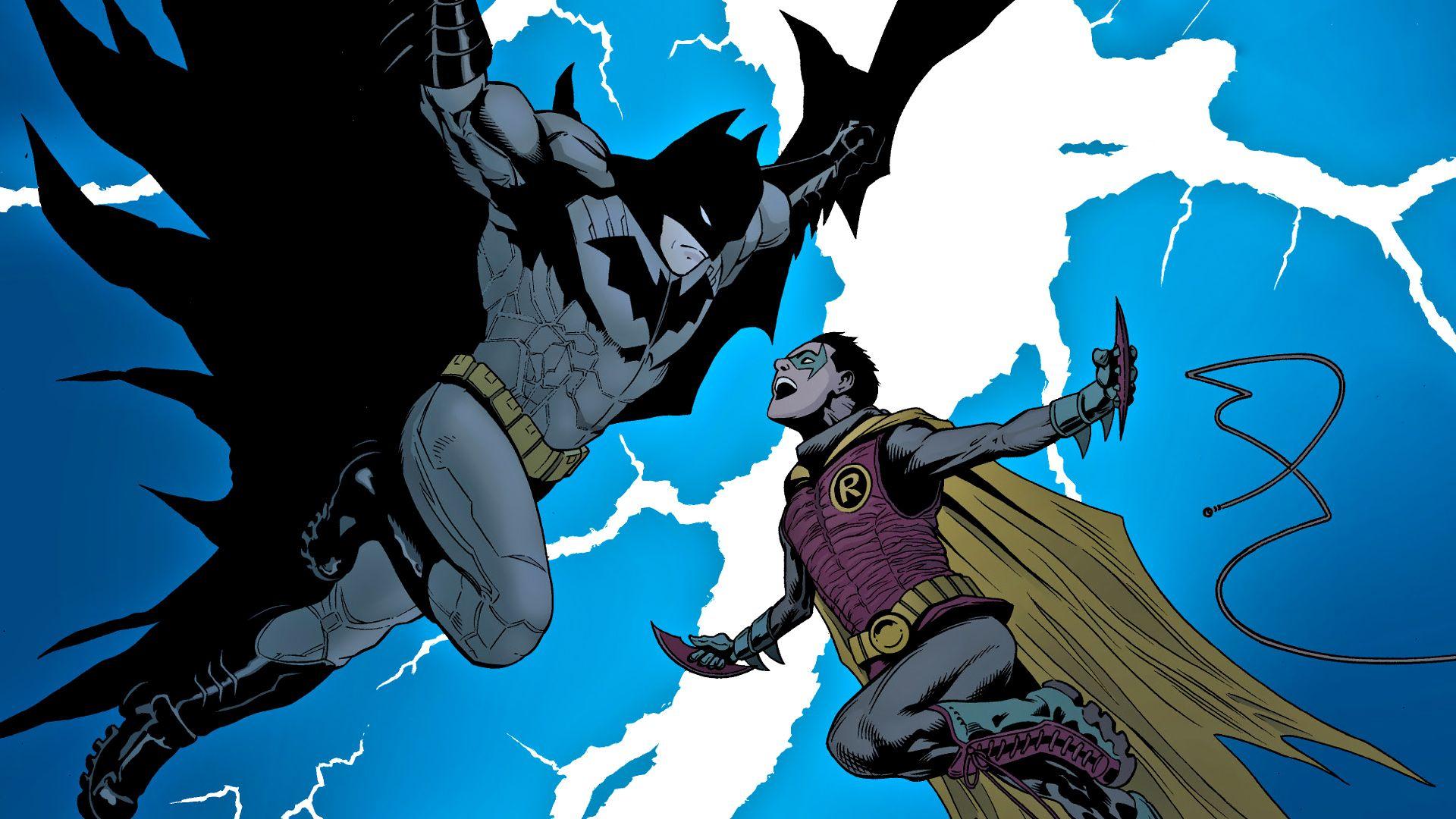 Pin By Affiong Henry On Robins Nightwing Batgirls Others Batman And Robin Wallpaper Batman Batman Comics