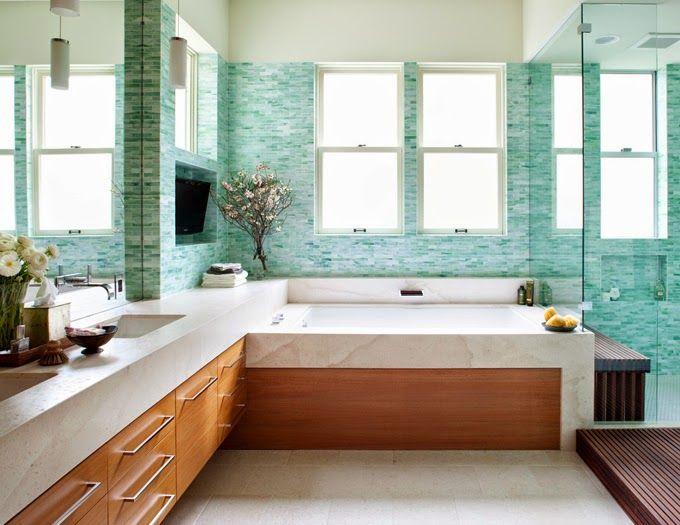 Cuartos de ba o con ducha y ba era decoracion - Cuartos de bano con ducha fotos ...