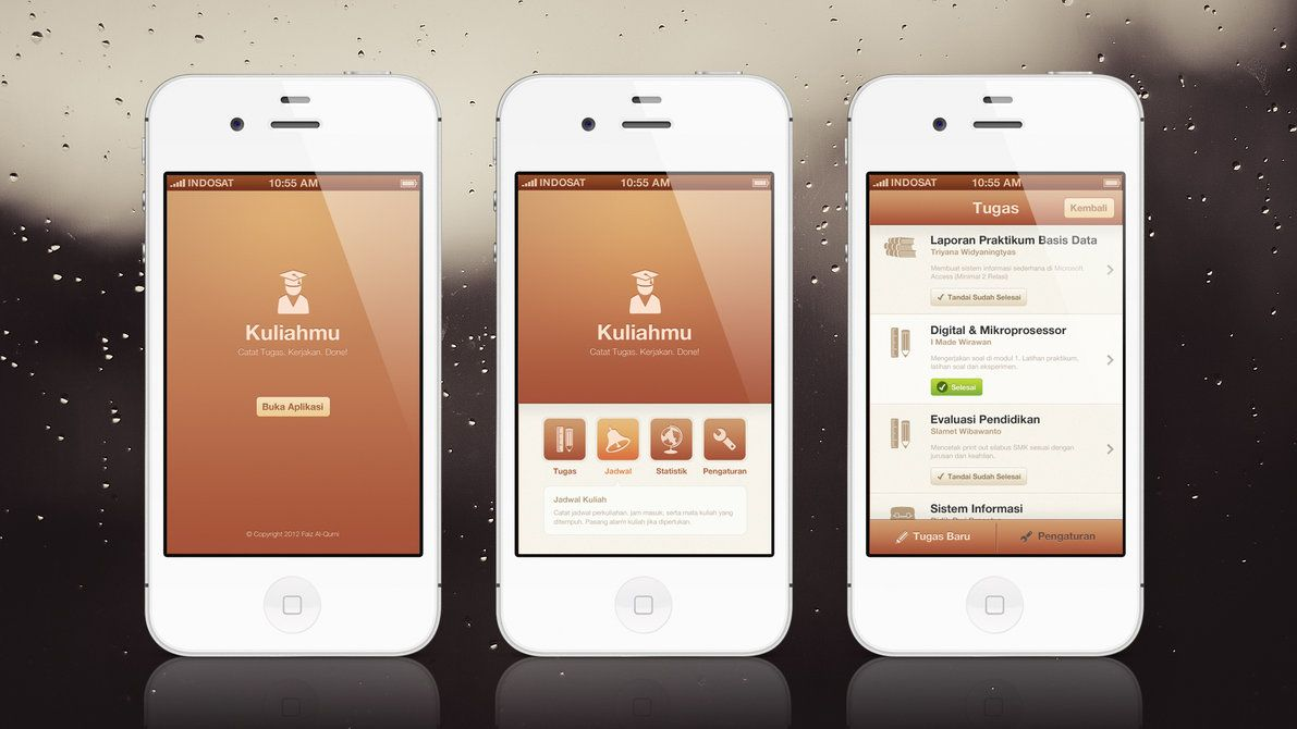 Kuliahmu App | Mobile UI/UX Design by ~faizalqurni on deviantART ...