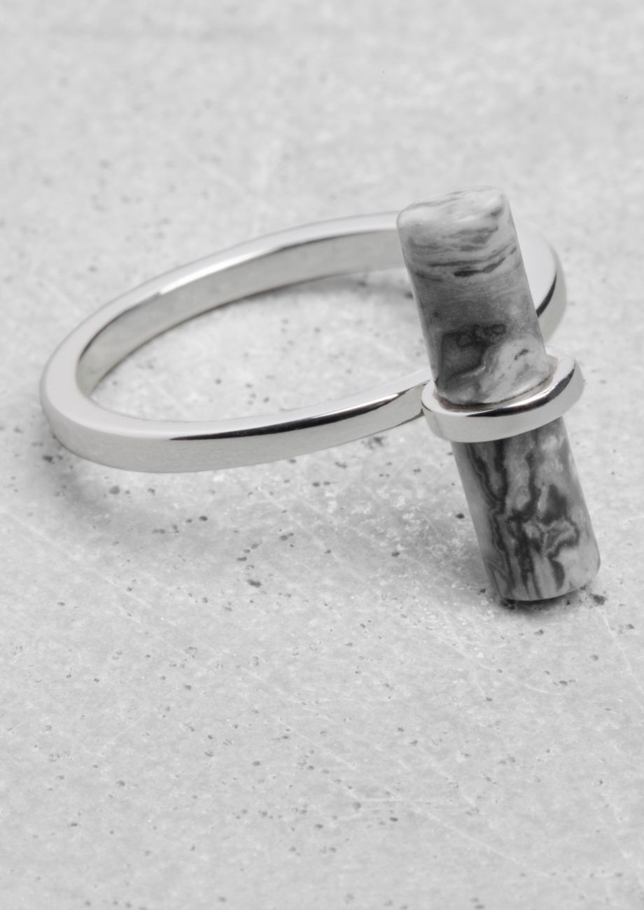 & Other Stories | Stone Bar Ring