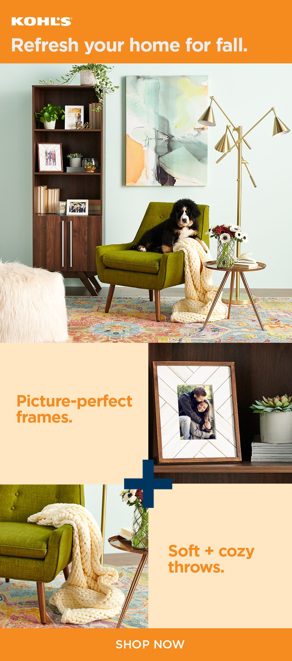 Shop Fall Home Decor At Kohl S Whether It S A New Picture Frame