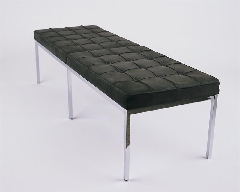 Design Upholstered Bench By Florence Knoll Knoll International Two