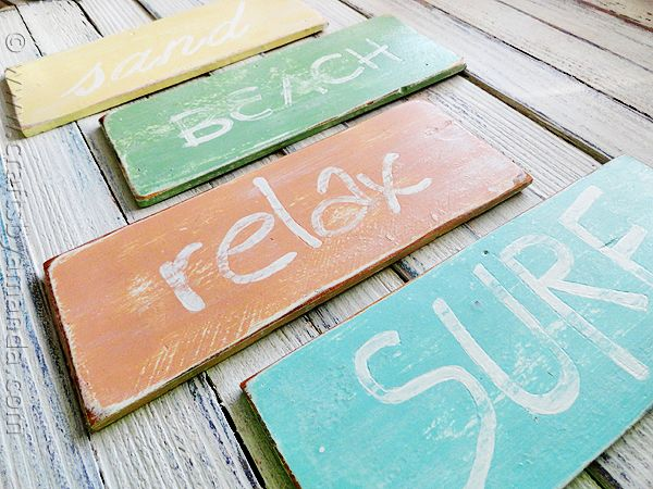 Beach Signs Decor Magnificent Weathered Beach Signs  Recipe  Weather Beach And Craft Decorating Design