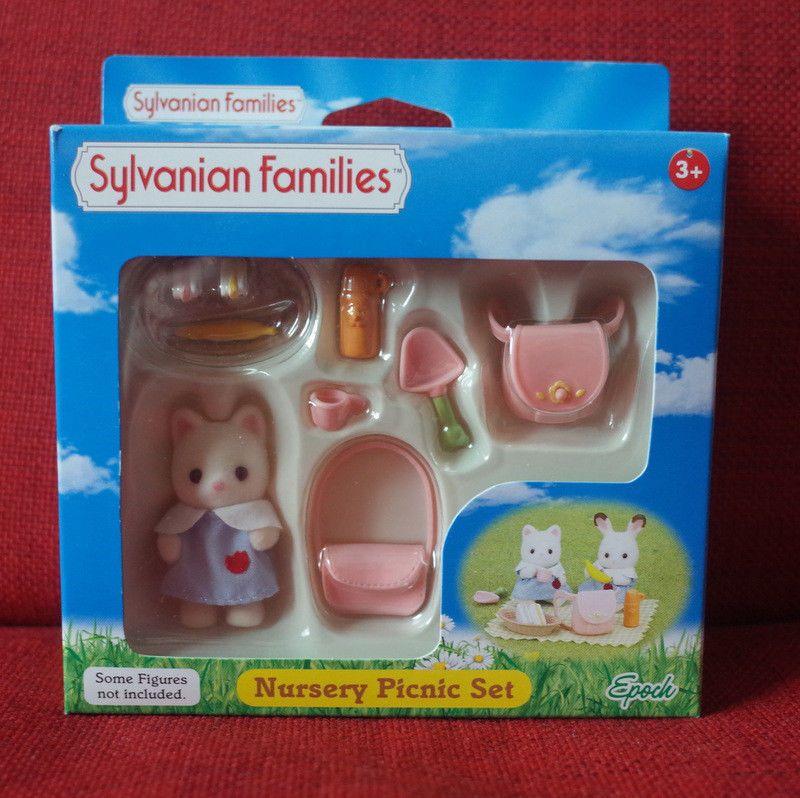 Sylvanian Families NURSERY PICNIC SET Epoch UK 5103 Calico