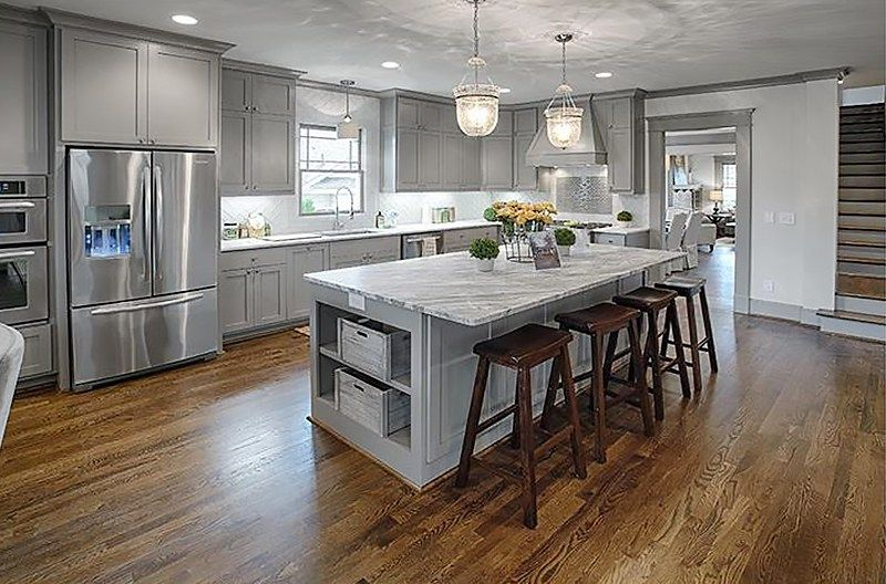 The Atlanta Real Estate Market Has Gone Grey Grey Kitchen