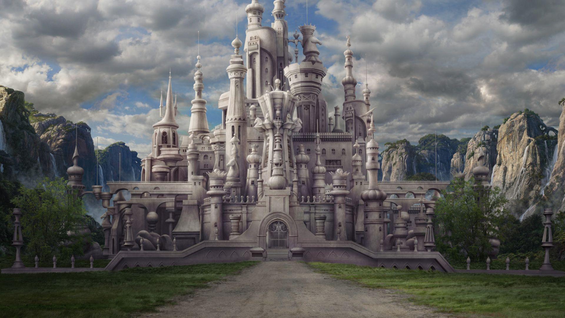 чего картинки замков королевств хоть