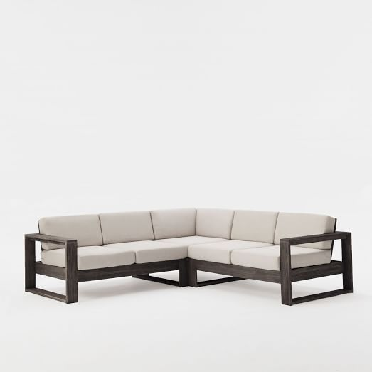 Portside Outdoor 3 Piece L Shaped Sectional Furniture Sofa Set Outdoor Furniture Collections Sofa Furniture