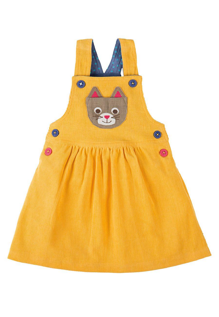 Baby pink dungaree dress  Doris Dungaree Dress