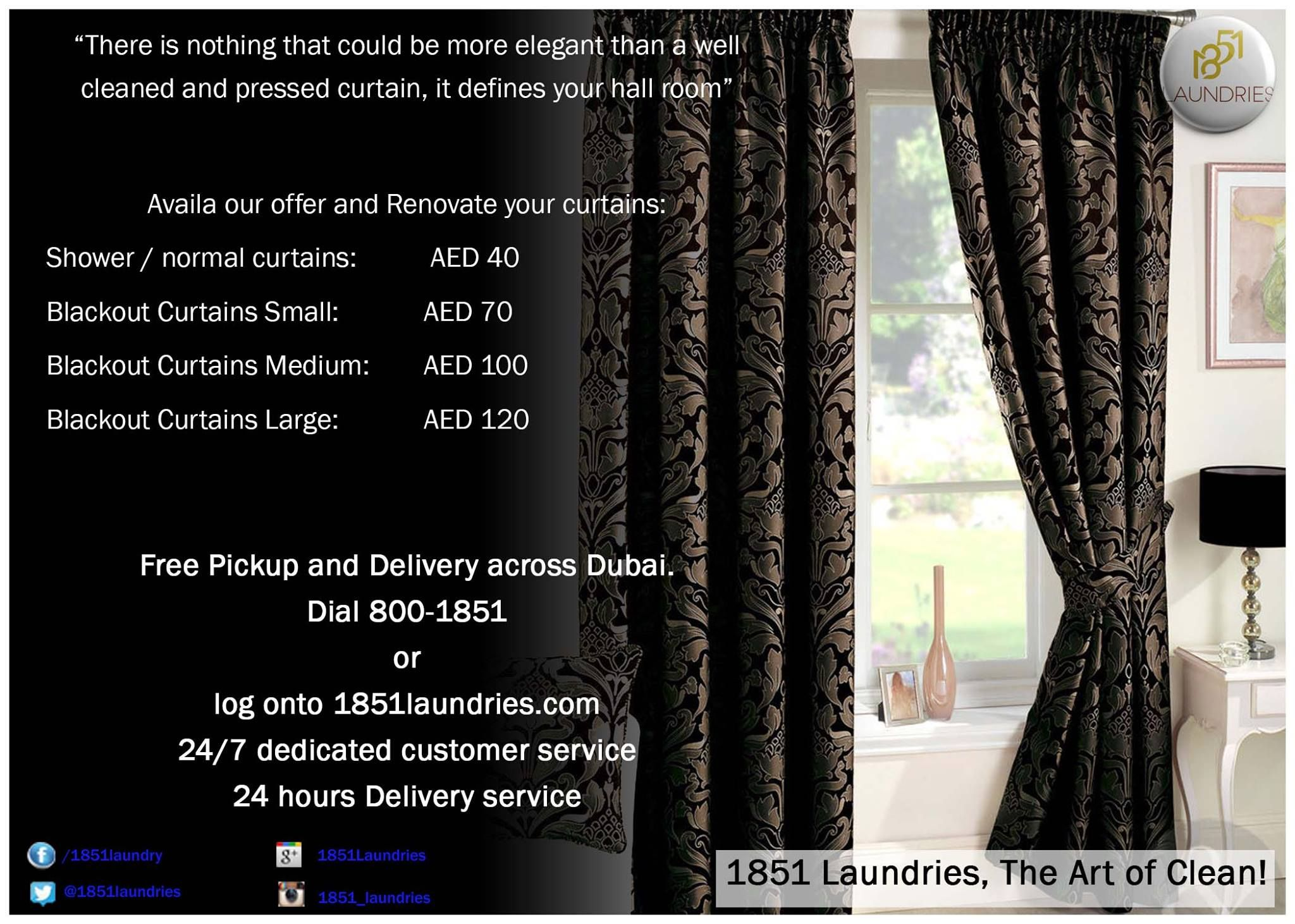 Best Curtains Cleaners In Dubai Cool Curtains Hall Room Curtains