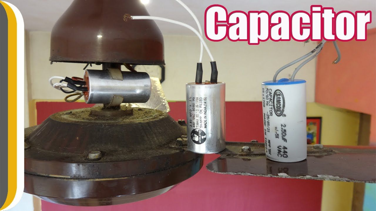 How To Change A Ceiling Fan Capacitor By Ur Indianconsumer Circuit Diagram Of