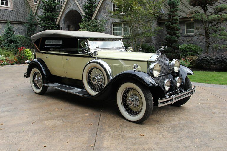 1930 packard 733 dual cowl sport phaeton vintage cars