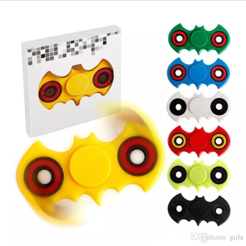 3D Finger hand Spinner Fidget Spinner EDC Stress Reliever Toy with Retail Box